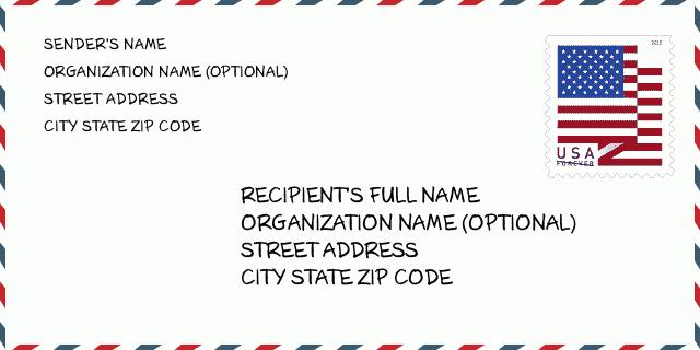 City Biloxi Ms Mississippi United States Zip Code 5 Plus 4